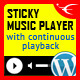 icon - Sticky Audio Player WordPress Plugin