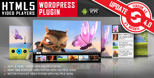 ---- HTML5 Video Player WordPress Plugin ----