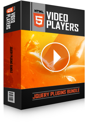 HTML5 Video Players jQuery Plugins Bundle - H2