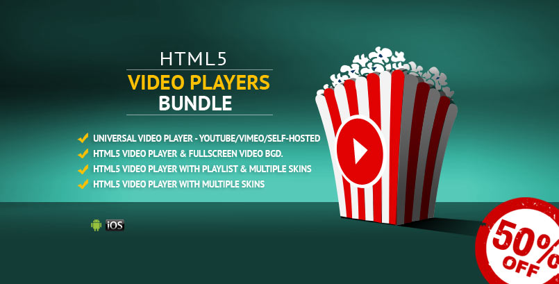 HTML5 Video Players jQuery Plugins Bundle