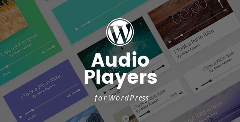 WordPress Audio Players Plugin with Layout Builder