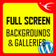 Image and Video FullScreen Background WordPress Plugin