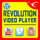 Bottom Playlist WordPress Video Player