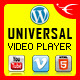 Universal WordPress Video Player