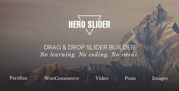 Hero Slider - Remarkable WordPress Slider Plugin