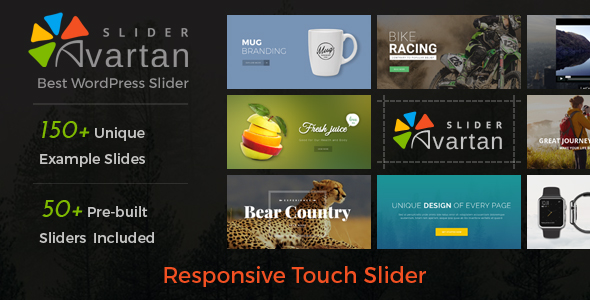 Avartan Slider - Responsive WordPress Slider Plugin