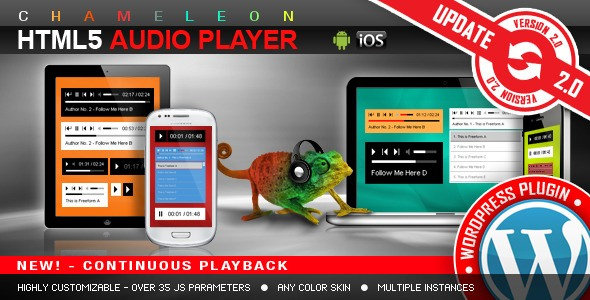 Chameleon Playlist HTML5 audio player wordpress.jpg