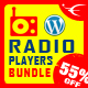 HTML5 Radio Player WordPress Plugins Bundle