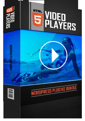 HTML5 Video Players WordPress Plugins Bundle