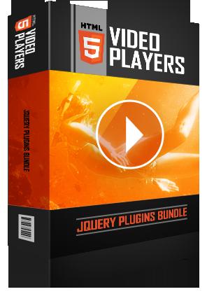 HTML5 Video Players jQuery Plugins Bundle - H2