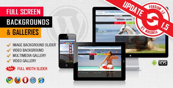 ---- Image&Video FullScreen Background WordPress Plugin ----