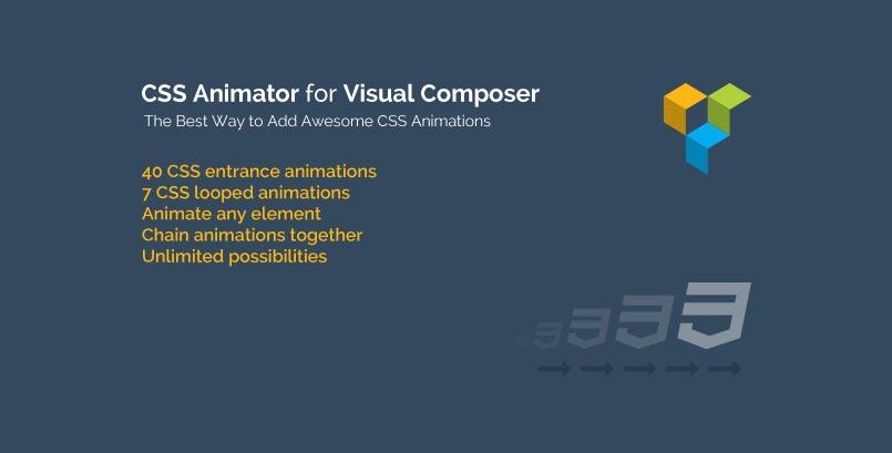 CSS Animator for Visual Composer