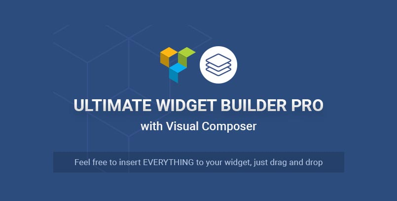 Ultimate Widget Builder Pro with Visual Composer