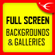 Image and Video FullScreen Background jQuery Plugin