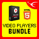 HTML5 Video Players jQuery Plugins Bundle