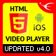 HTML5 Playlist Video Player with Multiple Skins