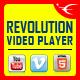 Bottom Playlist HTML5 Video Player