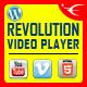 Bottom Playlist WordPress Video Player