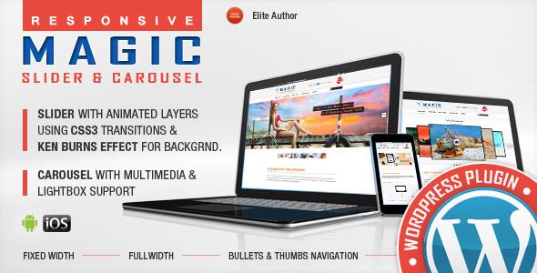 Magic Responsive Slider and Carousel WordPress Plugin